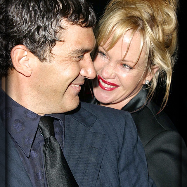 Antonio Banderas and Melanie Griffith
