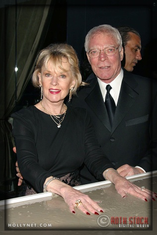 Tippi Hedren and husband Martin Dinnes