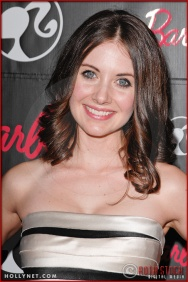 Alison Brie attends Barbie's 50th Birthday Party at her Real-Life Malibu Dream House