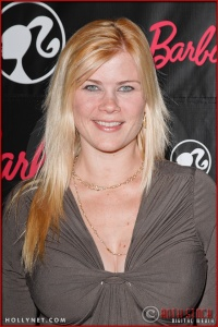 Alison Sweeney attends Barbie's 50th Birthday Party at her Real-Life Malibu Dream House