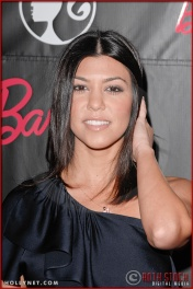 Kourtney Kardashian attends Barbie's 50th Birthday Party at her Real-Life Malibu Dream House
