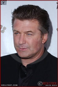 Alec Baldwin attends opening night of The Producers