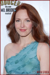 Amy Yasbeck attends opening night of The Producers