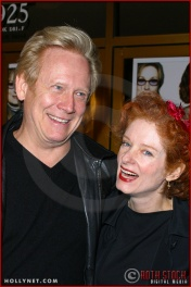 "Bruce Davison and Lisa Pelikan attend the World Premiere of ""The Hours"""