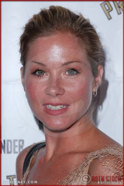Christina Applegate attends opening night of The Producers