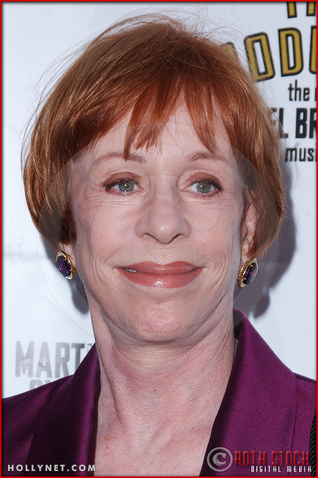 Carol Burnett attends opening night of The Producers
