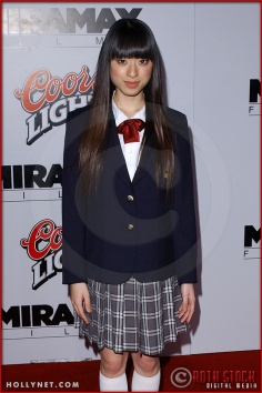 """Chiaki Kuriyama attends the Los Angeles Premiere Screening of """"Kill Bill Vol. 1"""""""