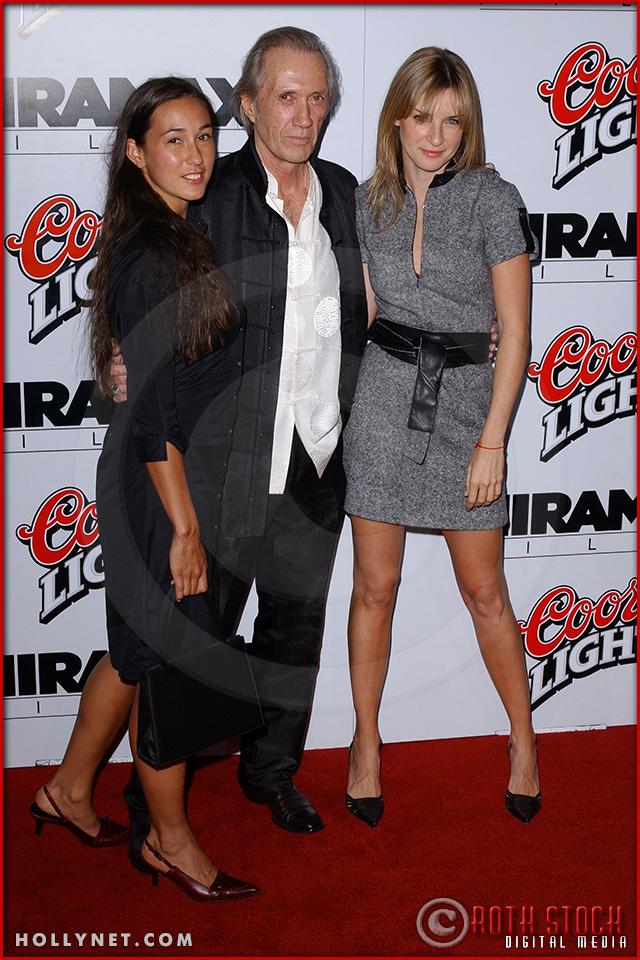 """Candice Carradine, David Carradine and Ever Carradine atend the Los Angeles Premiere Screening of """"Kill Bill Vol. 1"""""""
