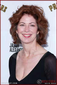 Dana Delaney attends opening night of The Producers