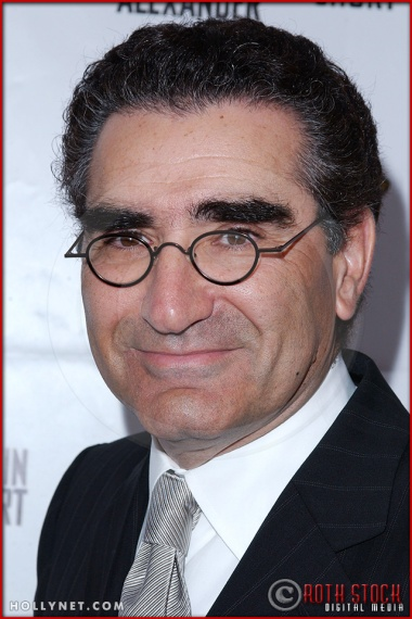 Eugene Levy attends opening night of The Producers