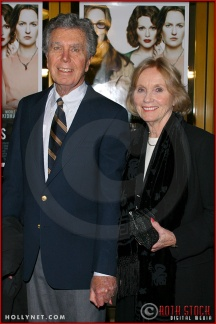 "Jeffrey Hayden and Eva Marie Saint attend the World Premiere of ""The Hours"""