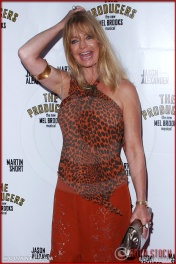 Goldie Hawn attends opening night of The Producers