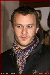 "Heath Ledger attends the World Premiere of ""The Hours"""