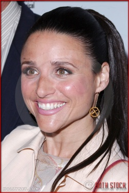 Julia Louis-Dreyfus attends opening night of The Producers