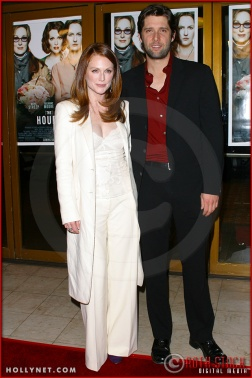 "Julianne Moore and Bart Freundlich attend the World Premiere of ""The Hours"""