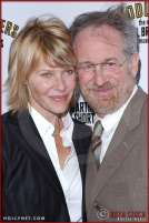 Kate Capshaw and Steven Spielberg attend opening night of The Producers