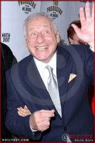 Mel Brooks attends opening night of The Producers