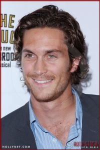 Oliver Hudson attends opening night of The Producers