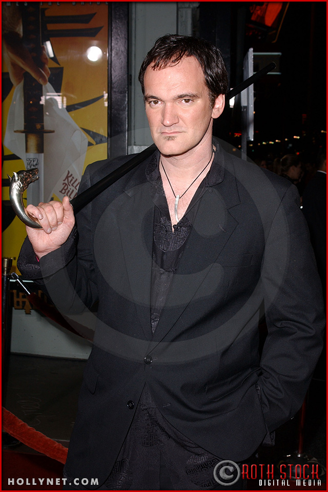 "Quentin Tarantino attends the Los Angeles Premiere Screening of ""Kill Bill Vol. 1"""