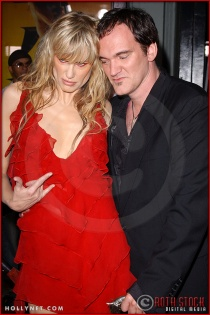 "Daryl Hannah and Quentin Tarantino attend the Los Angeles Premiere Screening of ""Kill Bill Vol. 1"""