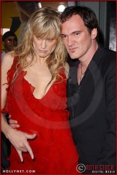 "Daryl Hannah and Quentin Tarantino attend the Los Angeles Premiere Screening of ""Kill Bill Vol. 1"""