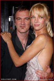 """Quentin Tarantino and Uma Thurman attend the Los Angeles Premiere Screening of """"Kill Bill Vol. 1"""""""