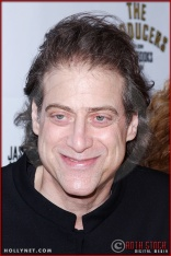Richard Lewis attends opening night of The Producers