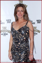 Rita Wilson attends opening night of The Producers