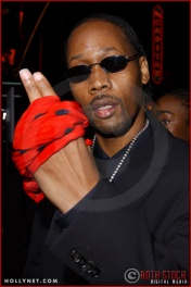 "The RZA attends the Los Angeles Premiere Screening of ""Kill Bill Vol. 1"""