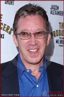 Tim Allen attends opening night of The Producers