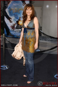 "Amy Brenneman attends the World Premiere of ""Lemony Snicket's A Series of Unfortunate Events"""