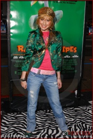 "Ashley Tisdale attends the World Premiere of ""Racing Stripes"""