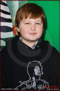 "Angus T. Jones attends the World Premiere of ""Racing Stripes"""