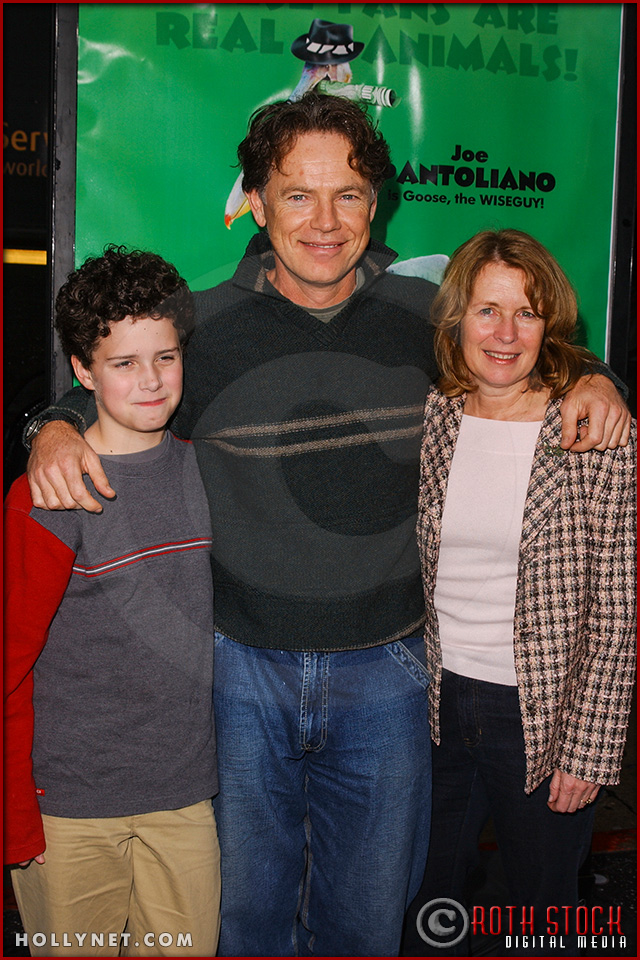 "Bruce Greenwood and family attend the World Premiere of ""Racing Stripes"""