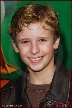 "Cayden Boyd attends World Premiere of ""Racing Stripes"""