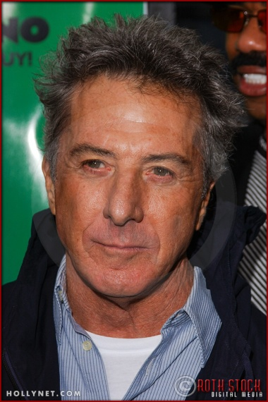 "Dustin Hoffman attends the World Premiere of ""Racing Stripes"""