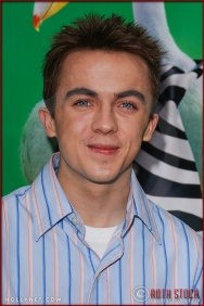 "Frankie Muniz attends the World Premiere of ""Racing Stripes"""