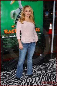 "Hayden Panettiere attends the World Premiere of ""Racing Stripes"""