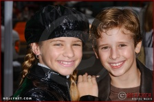 """Jenna Boyd and Cayden Boyd attend the World Premiere of """"Racing Stripes"""""""