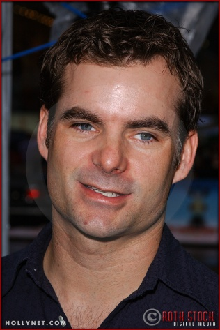 """Jeff Gordon attends the World Premiere of """"Racing Stripes"""""""