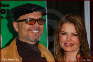 "Joe Pantoliano and Ro attend the ma DowneyWorld Premiere of ""Racing Stripes"""