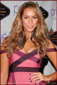 Leona Lewis attends the Official Justin Timberlake and Friends Charity Concert After-Party