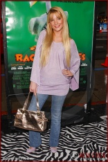 """Shelley Buckner attends the World Premiere of """"Racing Stripes"""""""