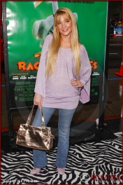 "Shelley Buckner attends the World Premiere of ""Racing Stripes"""