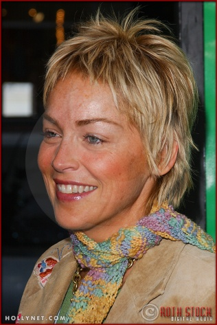 """Sharon Stone attends the World Premiere of """"Racing Stripes"""""""