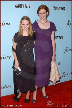 Kay Panabaker and Danielle Panabaker attend the Launch of Marciano Fashion Hosted by Vanity Fair
