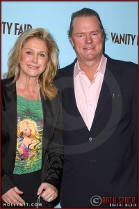 Kathy Hilton and Rick Hilton attend the Launch of Marciano Fashion Hosted by Vanity Fair