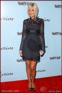 Tori Spelling attends the Launch of Marciano Fashion Hosted by Vanity Fair