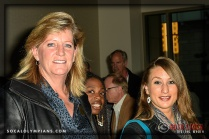 "Olympian Lori Ogren (L) and Olympic Hopeful Dana Feiss attend a Private Screening of ""Unbroken"" in Honor of Olympian Louis Zamperini, Hosted by the Southern California Olympians & Paralympians and the Koroibos Foundation"