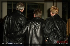 (L-R) Olympians John Naber; Brian Godell and Jim Wooley